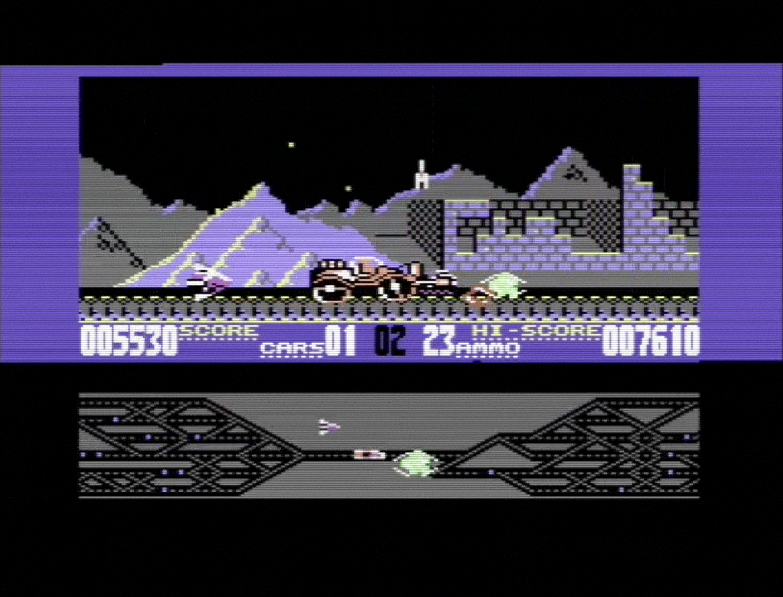 Black Thunder on Commodore 64