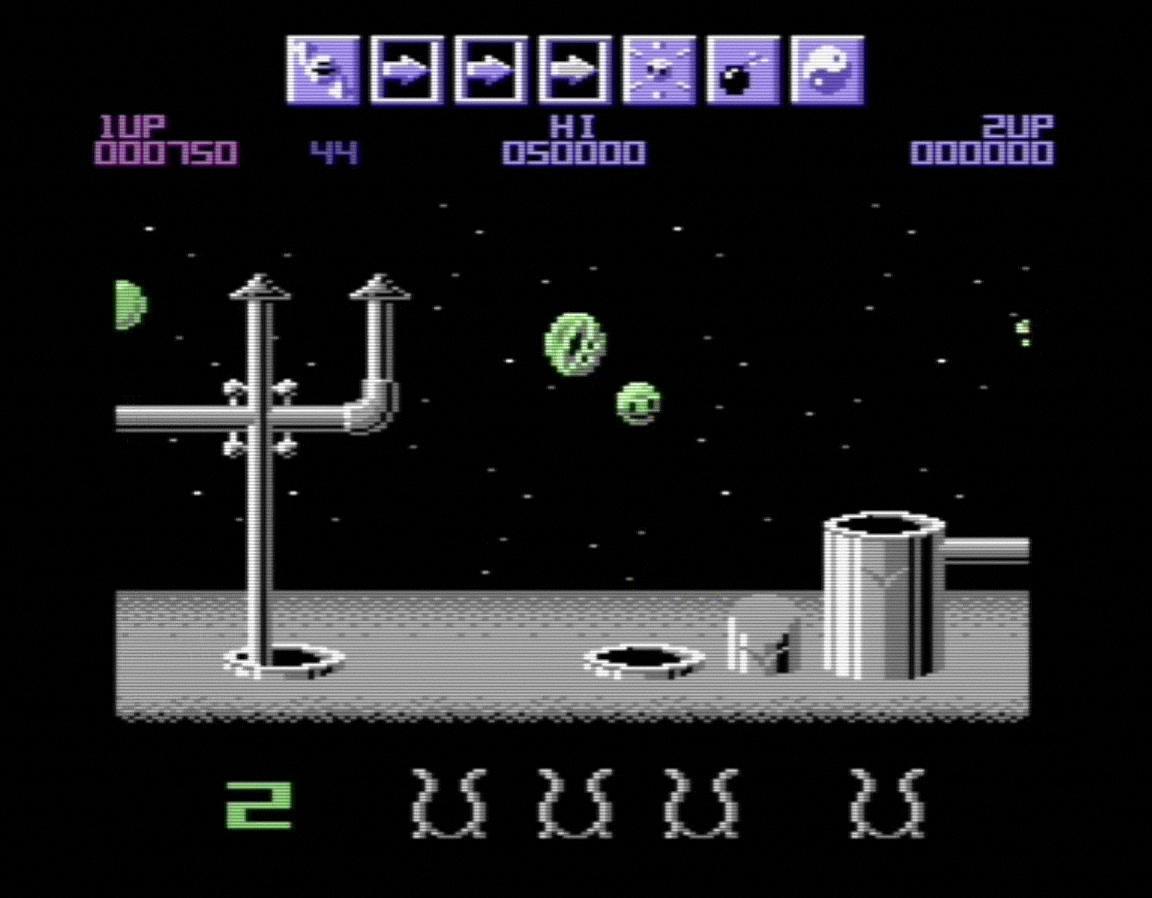 Wizball screenshot
