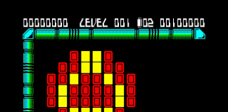 krakout on zx spectrum